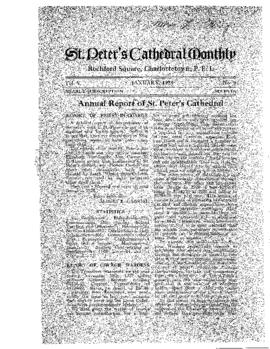 Annual Report of St. Peter's Cathedral [1927]