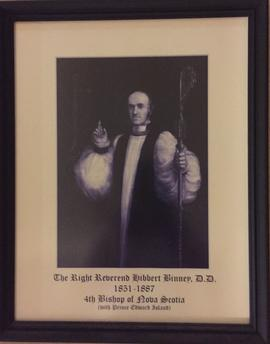 Right Reverend Hibbert Binney portrait