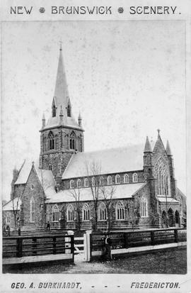 Christ Church Cathedral, Fredericton, New Brunswick, photograph