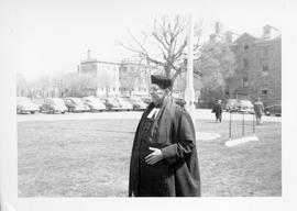 Canon Malone at King's College photograph