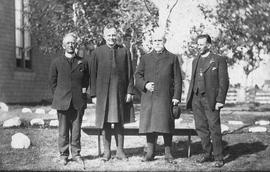 Canon E. M. Malone and colleagues group photograph