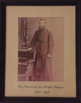 Reverend George Wright Hodgson portrait