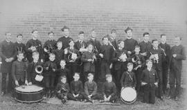 St. Peter's Boys' School band photograph