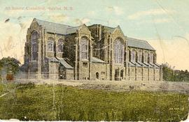 All Saints' Cathedral, Halifax, Nova Scotia, postcard