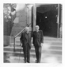 Reverend Canon E. M. Malone and Primate Howard Clark photograph