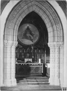 All Souls' Chapel interior photograph