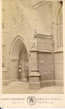 Unidentified church exterior photograph